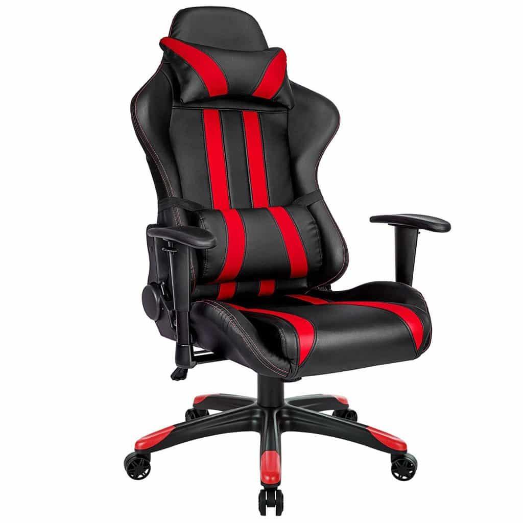 Généralement les chaises gaming noir et rouge ont la côtes chez les gamers