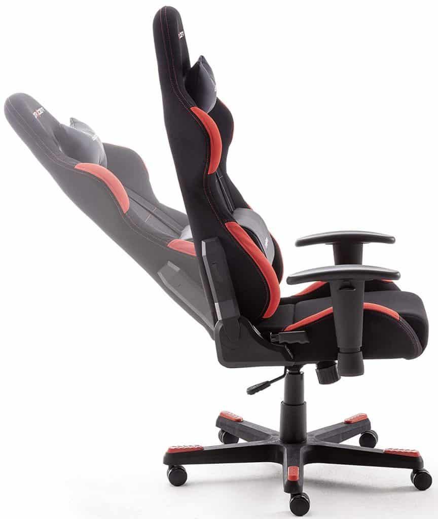 Robas Lund 62501SR4 Dx Racer est un fauteuil qui plaît de par ses nombreux atouts